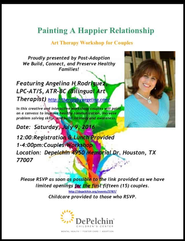 Couples Retreat! Art Therapy Workshop for Couples